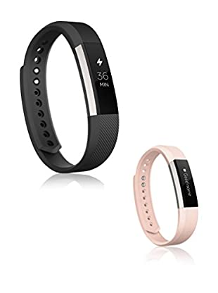 Fitbit Set Fitness Uhr und Uhrenarmband Bundle Alta