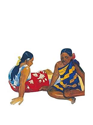 ArtopWeb Panel de Madera Gauguin Due Donne A Tahiti, 1892