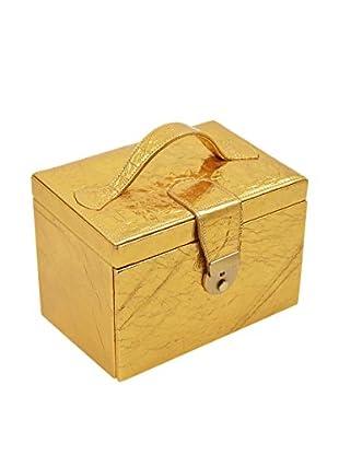 Cepi Pelleterie Caja para joyas Aquamarine