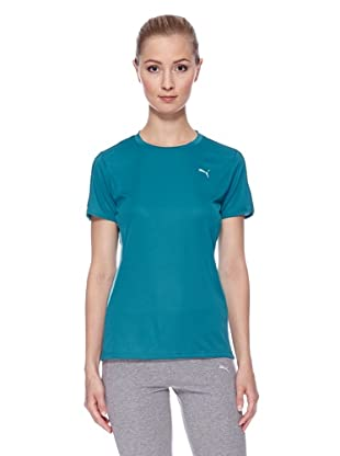 PUMA Laufshirt S/S Tee W (harbor blue)