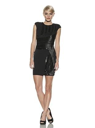 Robert Rodriguez Women's Embellished Dress (Black)