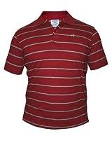 Wrangler Men Red Polo T-Shirt