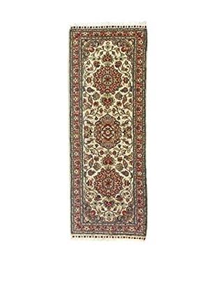 Eden Teppich Kashmirian F/Seta beige/braun 167 x 61 cm