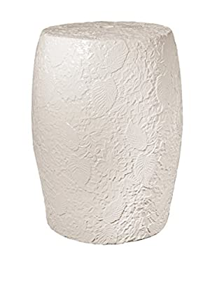Donny Osmond Home Garden Stool, Ivory