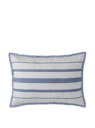Tommy Hilfiger Great Point Breakfast Pillow, Gray/Blue, 14