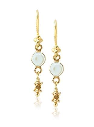 Robindira Unsworth Drop Earrings, Blue Quartz
