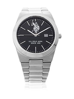 US Polo Association Uhr mit Miyota Uhrwerk Man Golden USP4364BK 41 mm