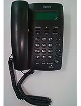 Beetel M65 CLI Corded Phone (Black)