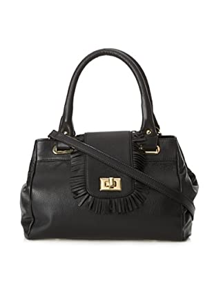 B-Low the Belt Women's Baby Fringe Tote, South Beach Black