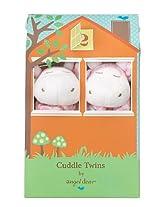 Angel Dear Cuddle Twin Set, Pink Giraffe