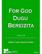 FOR GOD DUGU BEREIZITA (Nola kristau bizitzan hazten)