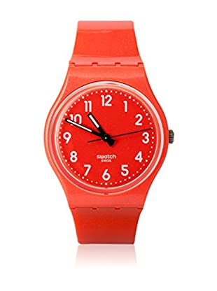Swatch Quarzuhr Unisex Unisex FLAKY ORANGE GO109 34.0 mm