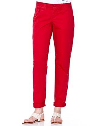 Esprit Pantalon chino (Rojo)