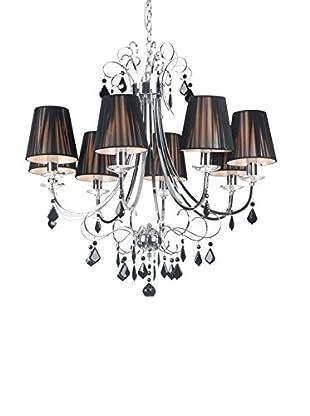 Zuo Humphreys Ceiling Lamp, Black/Chrome