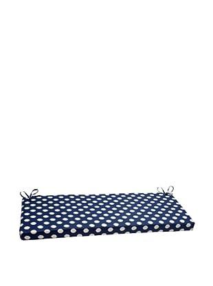 Waverly Sun-n-Shade Solar Spot Pool Bench Cushion (Navy/Cream)