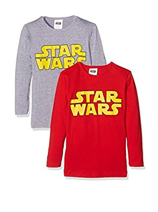Fantasia Pack x 2 Camiseta Manga Larga Star Wars Boy