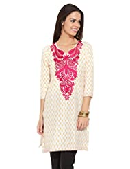 Lovely Lady Ladies Blend Straight Kurta - B00MMEJ2R4