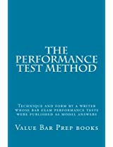 The Performance Test Method
