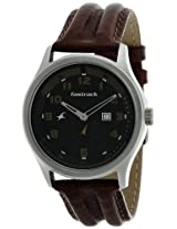 Fastrack Analog Black Dial Men's Watch - NE3001SL05