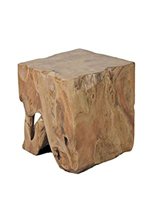 Jeffan Organic Cube Side Table, Natural