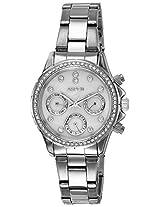 Aspen Analog White Dial Women's Watch - AP1829