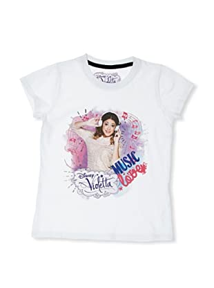 Licencias Camiseta Violetta (Blanco)