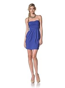 Luna  Women's Stella Strapless Dress (Royal)