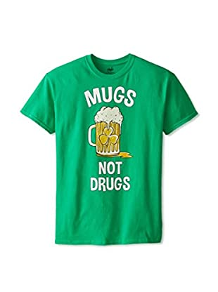 Freeze Men's Mugs Not Drugs Crew Neck T-Shirt