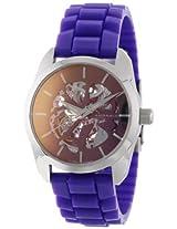 Android Watch - Ad572Apu - Impetus Skeleton Automatic Purple - Ad572Apu