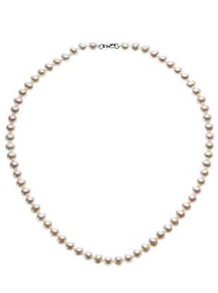 Emi Kawai Kette Perle Silber 6,50-7 mm