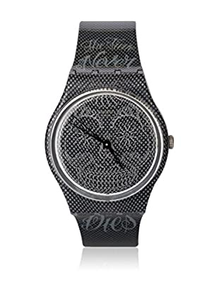Swatch Quarzuhr Unisex TIME NEVER DIES BLACK GM180 34 mm