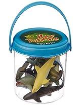 WildRepublic Itsy Bucket, Aquatic Blue