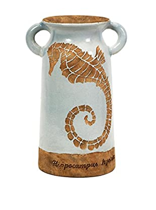 Naples Seahorse Urn with Handles