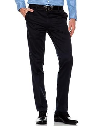 Dockers Pantalón Ajustado Vestir (azul marino)
