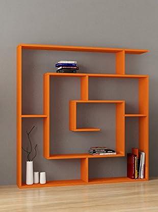 Decortie Librería Labirent Naranja