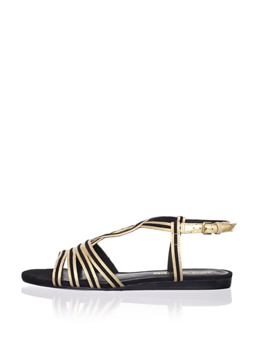 Pour La Victoire Women's Farida Sandal (Gold/Black)