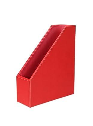 Nava Design Portariviste Saffiano (Rosso)