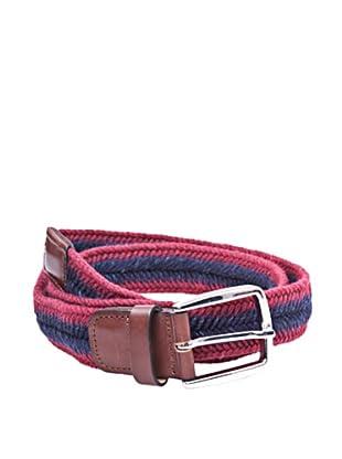 Cortefiel Cinturón Trenzado (Rojo)