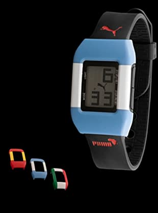Puma PU910751012 - Reloj world cup España / Argentina / Italia negro