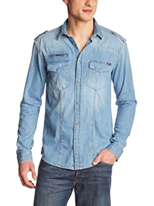 JACK & JONES Camisa (Azul Claro)