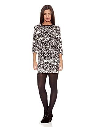Springfield Vestido Leopard Dress
