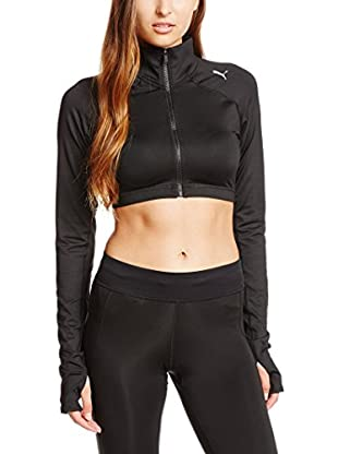 Puma Giacca All Eyes On Me Lslv Crop