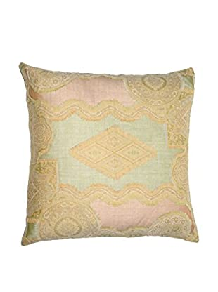 Uptown Down Vintage One-of-a-Kind Patchwork Pillow, Multi