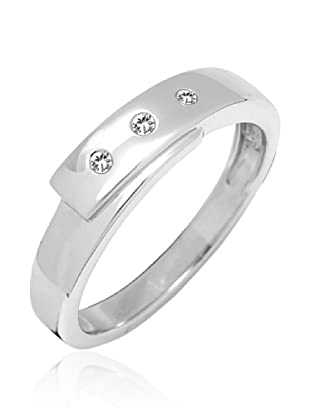 Secret Diamonds Ring Silber mit Diamant