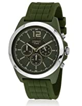 Esprit Chronograph Green Dial Men's Watch - ES106401004-N