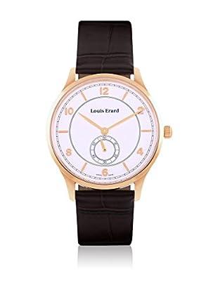 Louis Erard Uhr mit Handaufzug Man weiß 40 mm