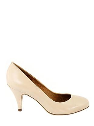 Eye Shoes Zapatos Puntera Redondeada (Crema)