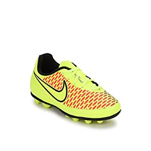 Jr Magista Ola Fg-R Green Football Shoes