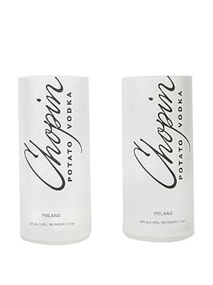 Set of 2 Chopin Potato Vodka Tumblers