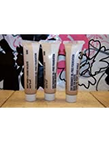 Lot Of 3 Tubes ~ Mary Kay Day Radiance Oil Free Foundation Rich Bronze Travel Size